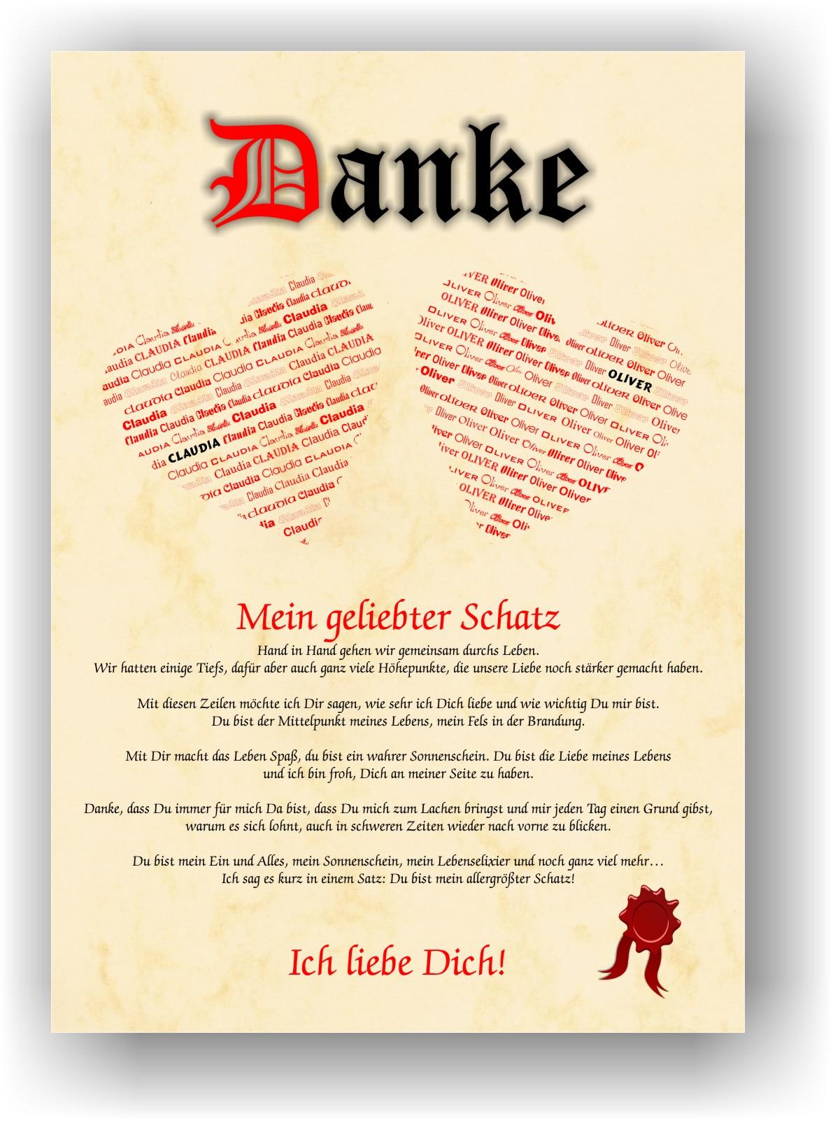Details Zu Geschenk Valentinstag Jahrestag Hochzeitstag Partner Mann Frau Liebeserklärung
